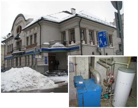 Здание отделения банка ОАО «УРАЛСИБ» в г.Н.Новгороде
